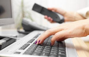 typing-on-keyboard